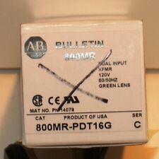 ALLEN BRADLEY 800MR-PDT16G PILOT LIGHT NIB  NO LENSE