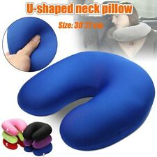 Inflatable Travel Support Pillow Neck Cushion Stress Snug Sleep Massager U/Shape