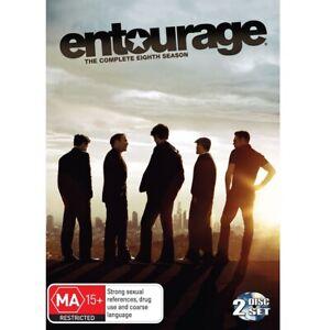 Entourage : Season 8 (DVD, 2-Disc Set) Region 4 (Complete Eighth Season) SEALED