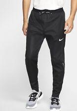 Nike DRI FIT PHENOM SHIELD Running Trousers Medium Mens Black BV5070 010