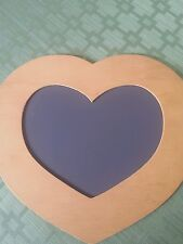 """Heart shaped chalkboard for crafting/decorating - 10 """"across and 9"""" tall"""