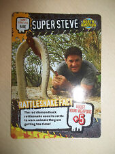 Deadly 60 Wild Official Trading Card BBC Earth Excellent RARE no. 159/161