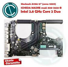"""APPLE MACBOOK PRO A1286 15"""" 2009 MOTHER BOARD SCHEDA MADRE 2.8GHZ 820-2523-B"""