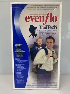 EVENFLO Trailtech Backpack Child Carrier For 16 to 45 Pounds