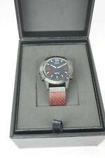 Garmin fenix 6 Sapphire Black DLC with Red Nylon Band 010-02158-16