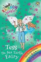 Tess the Sea Turtle Fairy (Rainbow Magic) by Daisy Meadows, Paperback Used Book,