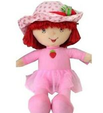 Strawberry Shortcake Plush Doll Pink Dress Ballet Shoes