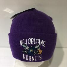 Vintage NBA New Orleans Hornets Reebok Beanie Winter Cap Hat OSFA NWT