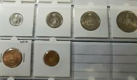 2016 CHANGEOVER 6 COIN MINT SET 50 YEAR OF DECIMAL CURRENCY $1 $2 50c 20c 10c 5c