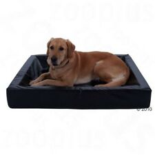 Wipe Clean Dog Bed Large Memory Foam Hygienic Faux Leather Infirm Elderly Dogs