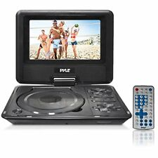"Pyle Home Portable DVD CD Player - 7"" High Resolution TFT Swivel Angle"