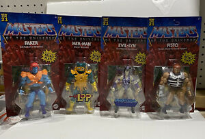 Mattel Masters of the Universe Origins Wave 5 Complete Set- New Unpunched