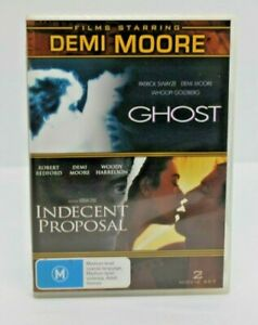 Ghost / Indecent Proposal DVD free post