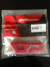 HONDA  CRF 450 X  2008-2016  POLISPORT CHAIN GUIDE BLOCK  RED