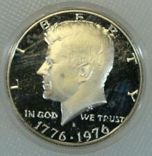 1976-S Proof Kennedy Silver Bicentennial Commemorative Half Dollar in Capsule k2