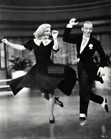 "FRED ASTAIRE AND GINGER ROGERS IN ""SWING TIME"" - 8X10 PUBLICITY PHOTO (EP-080)"