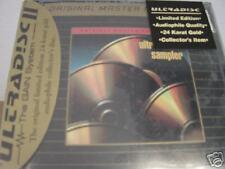 MFSL Ultradisc II Sampler 24 Karat Gold Sealed CD TREMENDOUSLY RARE ORIGINAL