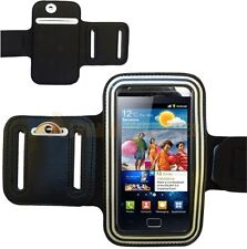 Sports Gym Running Armband Case Cover Pouch For Samsung Galaxy S2 i9100 - Silver