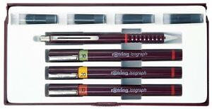Rotring Isograph 3 Pen Junior Set - 0.20/0.30/0.50mm