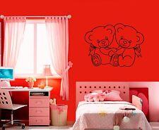 Wall Stickers Vinyl Decal Little Bear Nursery For Kids Animal ig1495