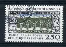 FRANCE - 1991, timbre 2725, flore, Arbres, oblitéré