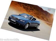 Poster Audi Cabriolet ORIGINAL AUDI 2002 Auto PKWs Deutschland int Nr 039