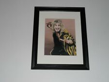 "Framed Ozzy Osbourne 1986 promo shot The Ultimate Sin Tour Black Sabbath 14""x17"""