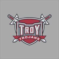 Troy Trojans #2 NCAA College Vinyl Sticker Decal Car Window Wall