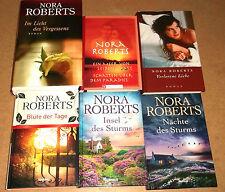 Nora Roberts = Abenteuer Liebe Schicksal - 6 verschiedene gebundene Bücher bk895