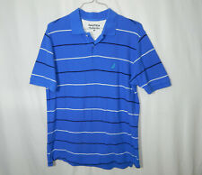 Nautica Short Sleeve Casual Polo Golf True Deck Shirt Size MEDIUM Mens Clothing