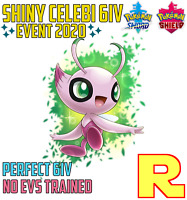 6IV SHINY CELEBI ⚔️ (+ITEM!) 🛡 for Pokemon SWORD & SHIELD ⚔️ Legit & Perfect