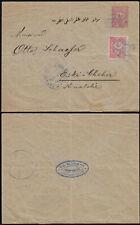 Turkey 20p Postal Stationery Cover mailed 1900s uprated. Eskisehir