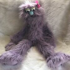 "Silly Monkey 28"" Wrap Around Monster Hand Puppet Lavender Purple American Fun"