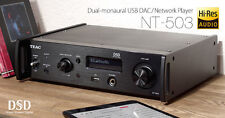 TEAC NT-503 NT503 DUAL MONAURAL USB/DAC NETWORK PLAYER BRAND NEW WARRANTY BLACK