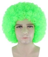 80's Superstar Fashion Dance Floor Unisex Light Color Afro Wig (7 Colors/Styles)