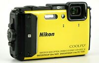 Nikon COOLPIX AW130 Waterproof Digital Camera 16mp with Built-in Wi-Fi