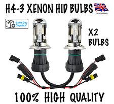 2X H4-3 BI XENON HID KIT BULBS 35W H4 HI/LOW BEAM BULBS FORD VW VAUXHALL MAZDA