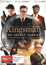 Kingsman: The Secret Service (DVD, 2015) region 4 (Modern Classic)