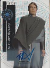 Rohan Nichol 2015 Topps Star Wars High Tek autograph auto card 75 /25