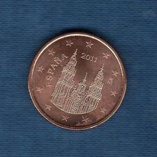 Espagne - 2011 - 5 centimes d'euro - Pièce neuve de rouleau -