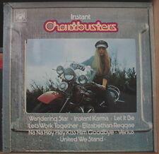 INSTANT CHARTBUSTERS CHEESECAKE HARLEY DAVIDSON 70's COVER UK PRESS LP