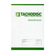 T750 Tachograph Chart Register Book, From the Uk's Number 1 Specialist, T750