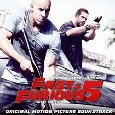 FAST AND FURIOUS 5-RIO HEIST  CD++++DON OMAR BRIAN TYLER 13 TRACKS+++++ NEU