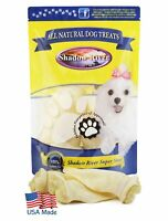 Shadow River USA Premium Lamb Ear Treats for Dogs - 8 Pack Large Full Size Ears