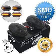 2x DYNAMISCHE LED SEITENBLINKER BLINKER SCHWARZ MERCEDES W168 W447 SMART W450