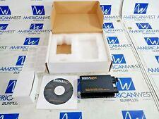 SIGNAMAX 065-1130 MEDIA CONVERTER 100BASE FX-ST TO 100BASE FX-SC SINGLE MODE 15K