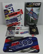 2017 Indy 500 Program Fan Pack Event Pins Patch Banner Decal License Plate Coin