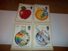 Sir Isaac Newton 24 March 1987 PHQ 100 set Royal Mail Stamp Card Series MINT