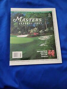 2001 MASTERS JOURNAL-NEW TIGER WOODS WINNER