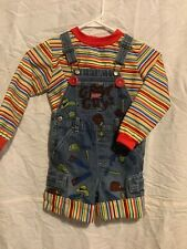 Good Guy Chucky Halloween Dress Up Costume - SHORTS coveralls.....SIZE 3t